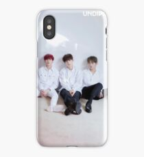 WANNA ONE Minhyun, Jisung & Sungwoon UNDIVIDED Lean On Me iPhone Case