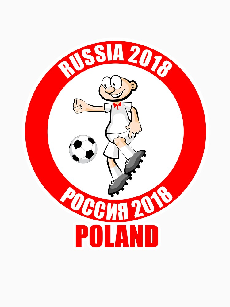 Poland in the Soccer World Cup Russia 2018 by MegaSitioDesign