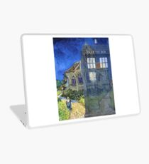 Dr., Van Gogh and the Church at Auvers Laptop Skin