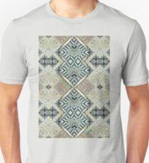 Iron Elegance geometric pattern  Unisex T-Shirt