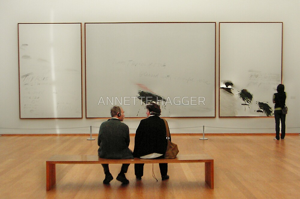 Sitting and Gazing by ANNETTE HAGGER