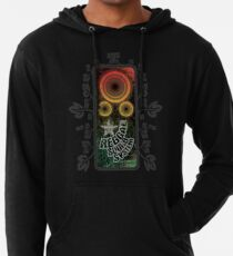 reggae - soundsystem with flowers Leichter Hoodie