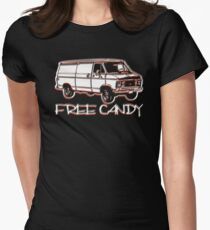 Free Candy Van Women's Fitted T-Shirt