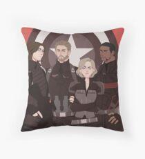 Nomads Throw Pillow