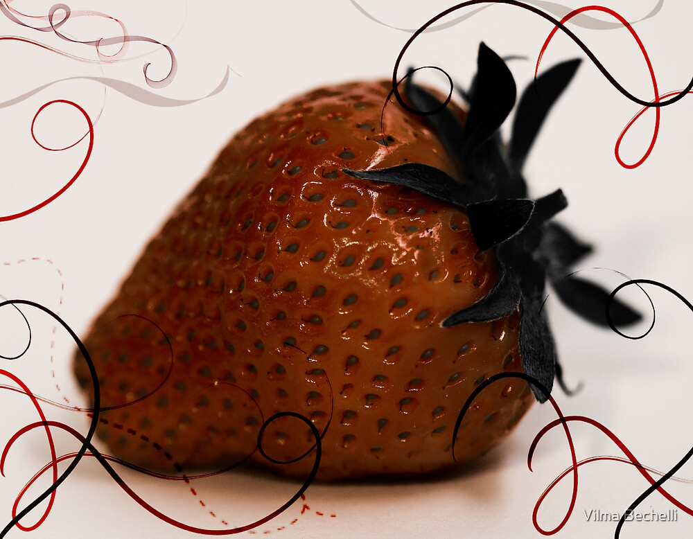 srawberry by Vilma Bechelli