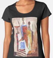Lodge décor - The Indaba  Women's Premium T-Shirt