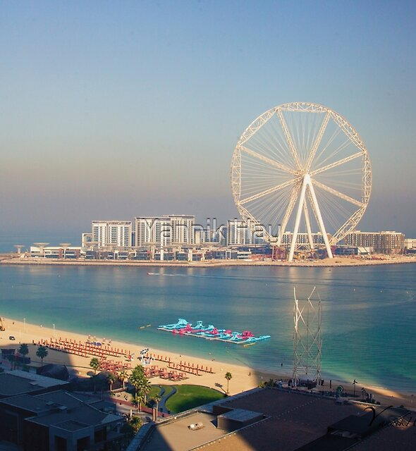 Largest Ferris wheel in the world, Dubai, UAE by Yannik Hay
