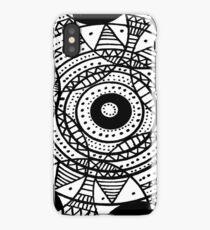 Line Design 1 iPhone Case
