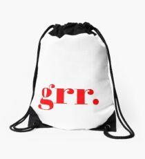 grr. Drawstring Bag