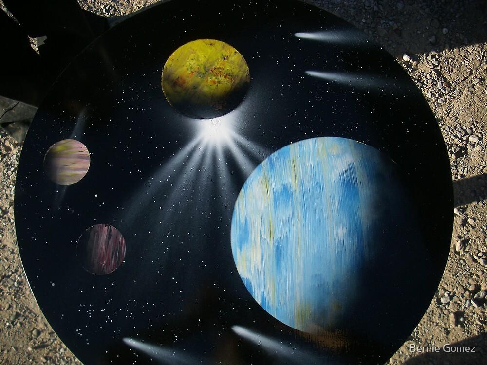Tabletop Planets by Bernie Gomez