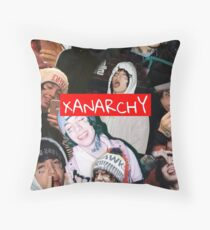 Lil Xan XANARCHY  Throw Pillow