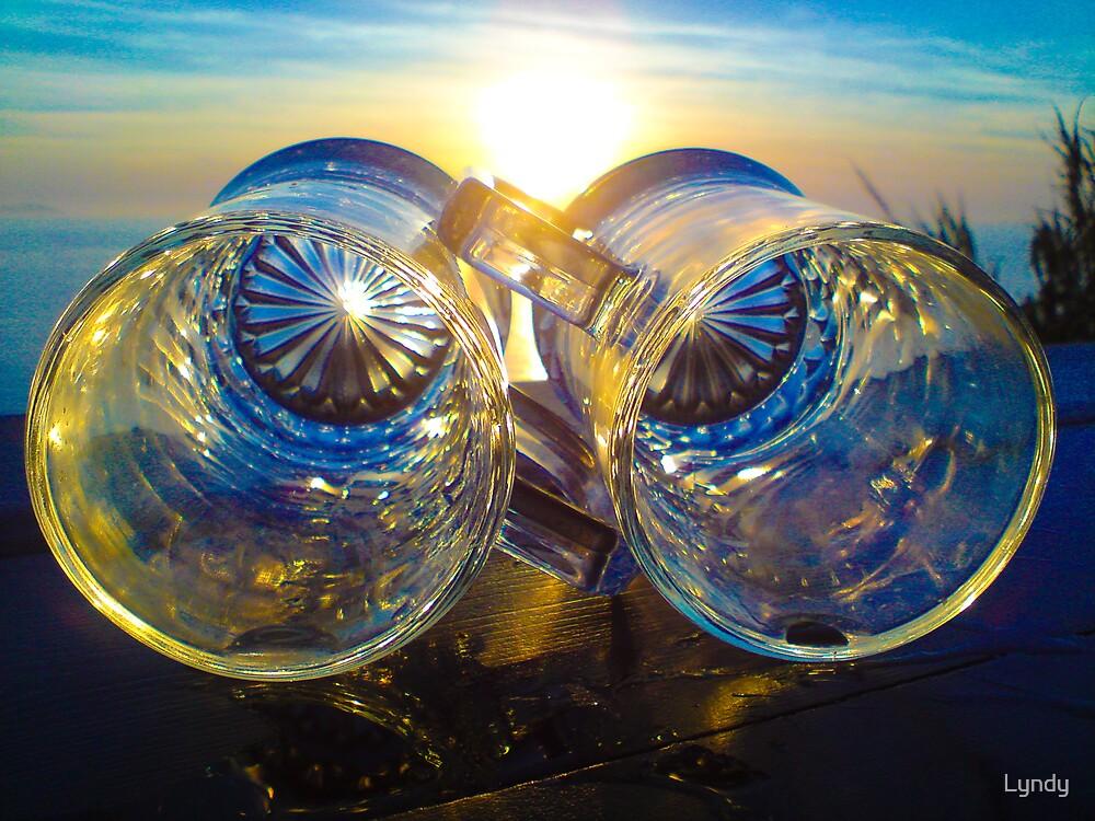 Sundowners for two by Lyndy