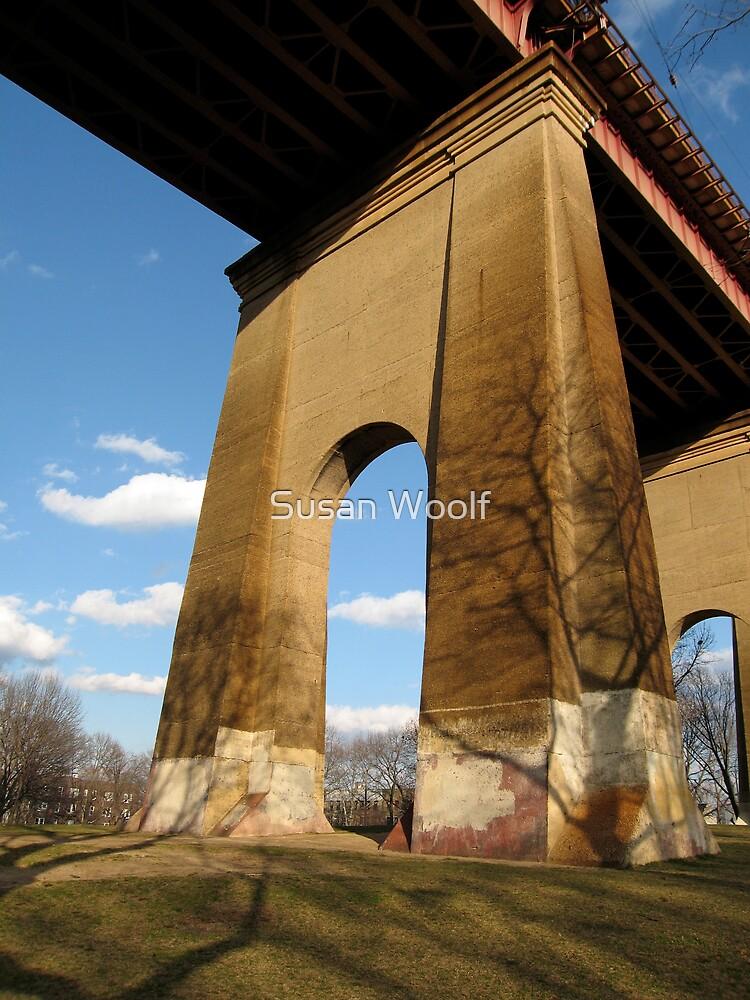 Hellgate Bridge by Susan Woolf
