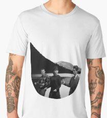 Collage Bande à part (Band of Outsiders) - Jean-Luc Godard Men's Premium T-Shirt