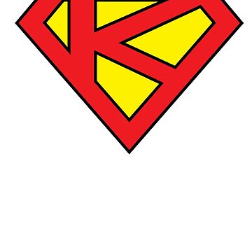 """K"" Superhero Emblem by edskimo8"