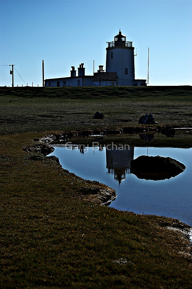 Lighthouse Reflected by Gary Buchan