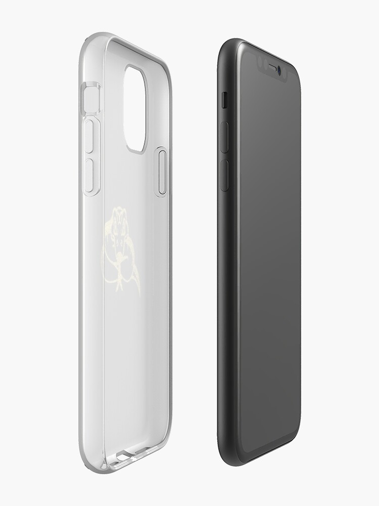 Coque iPhone « serpent d'or », par MisterSmithers