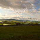 View from Garvock Hill by Susan A Wilson