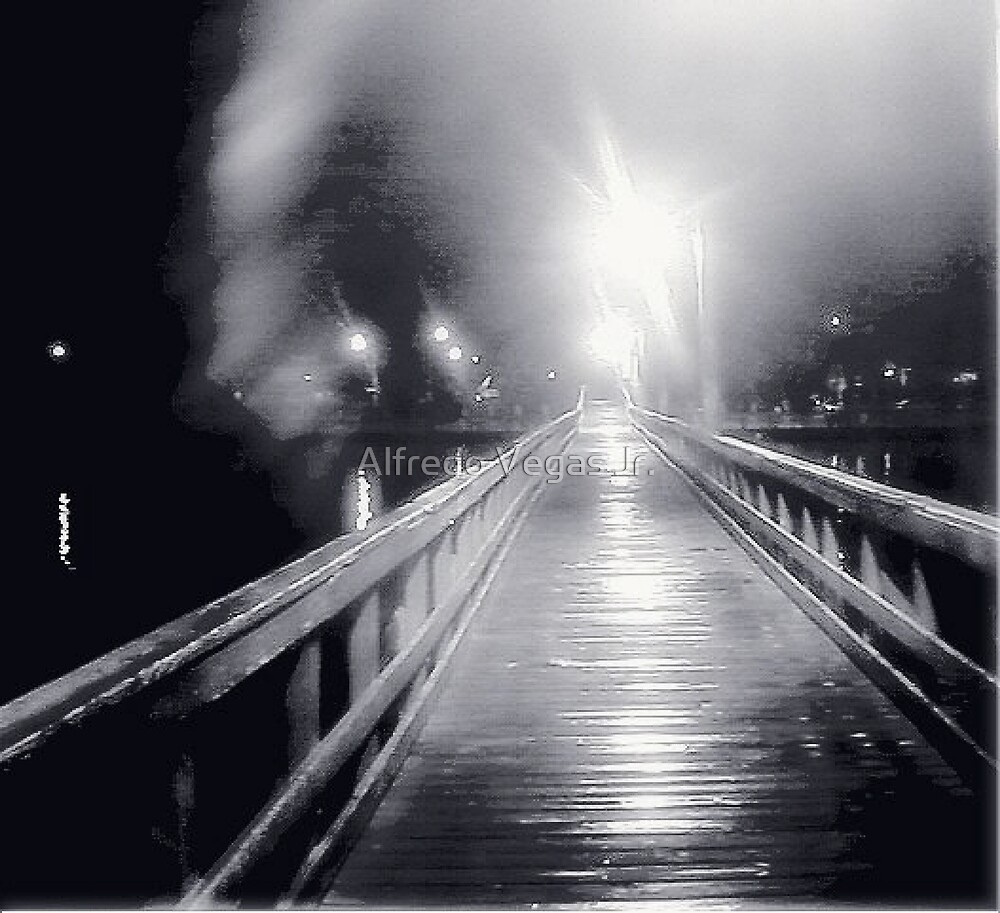 Crossing to the other side.. by Alfredo Vegas Jr.