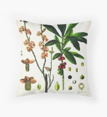 Daphne mezereum Throw Pillow