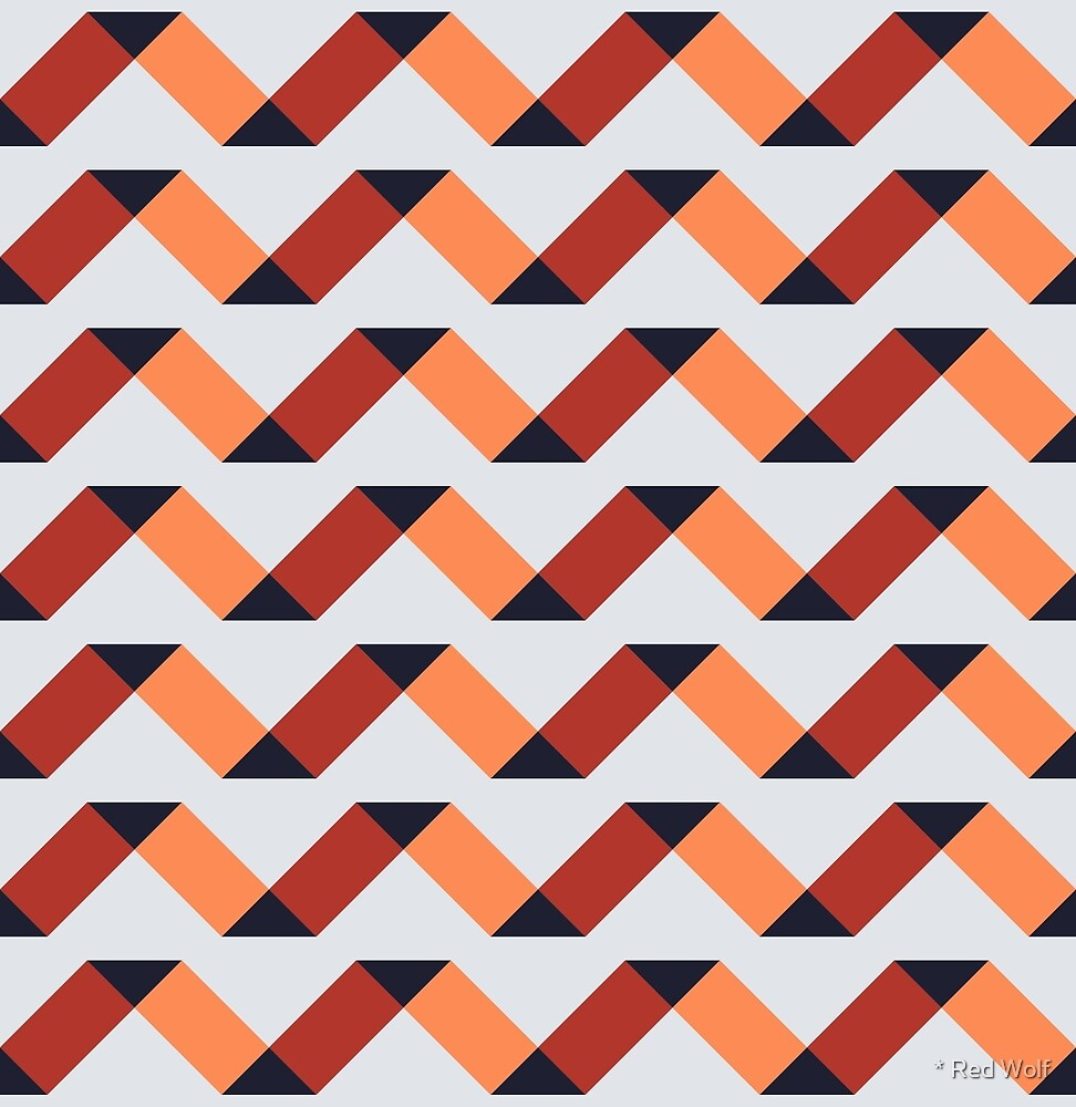 Geometric Pattern: Spiral: Flutter by * Red Wolf