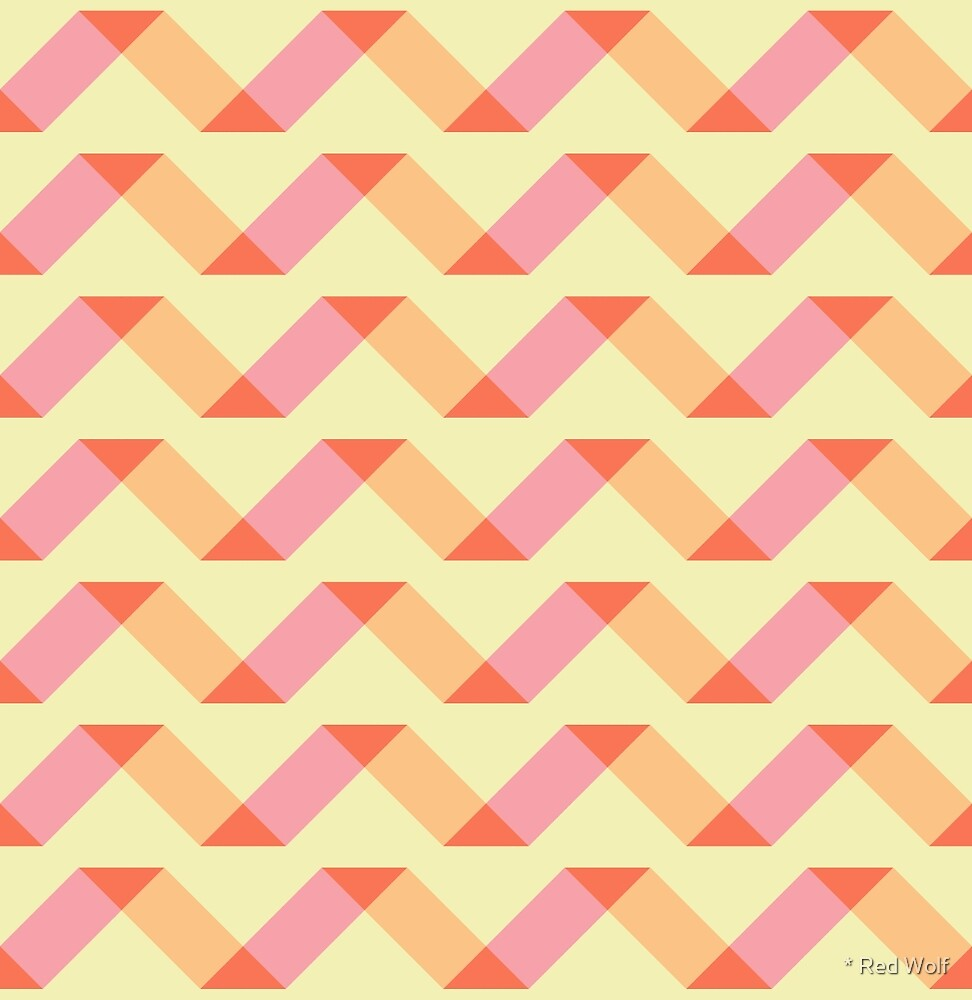 Geometric Pattern: Spiral: Candy by * Red Wolf