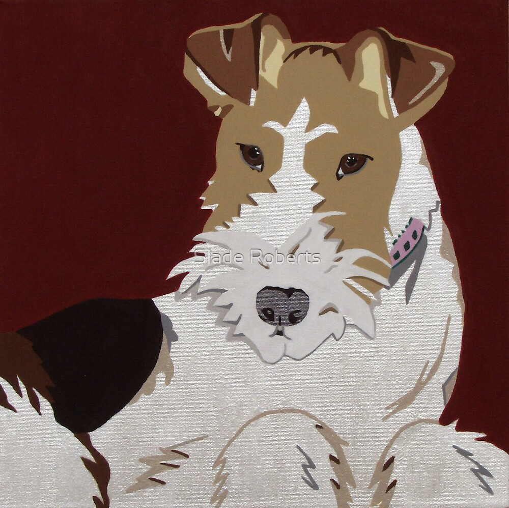 Wirehaired Fox Terrier by Slade Roberts