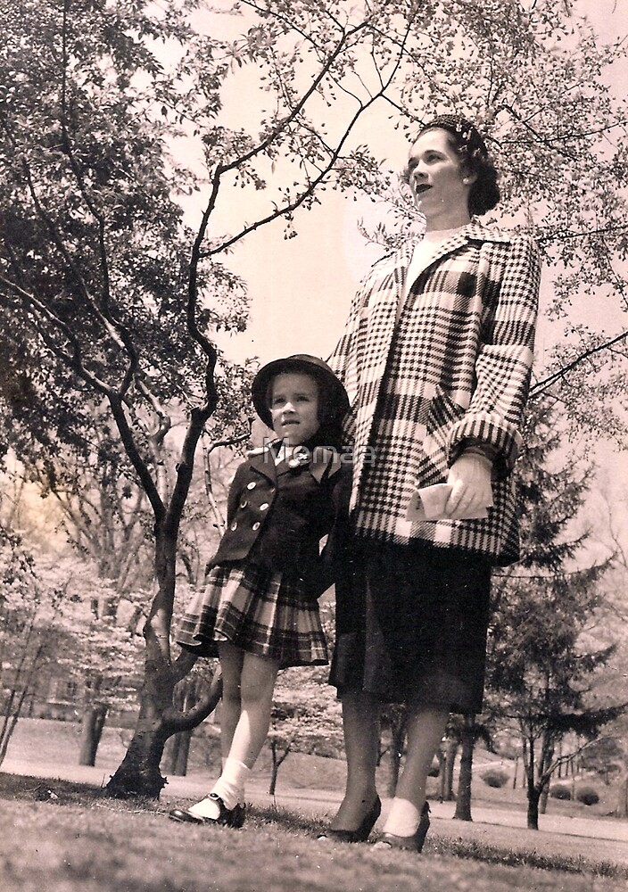 Mom and Me.........Easter Sunday by Memaa