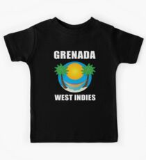 Grenada, West Indies (W) Kids Tee
