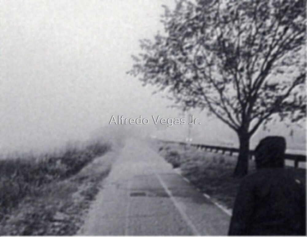 The road behind by Alfredo Vegas Jr.