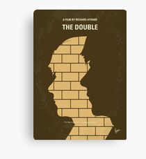 No936 My The Double minimal movie poster Canvas Print
