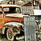 PARK HERE by dvande1