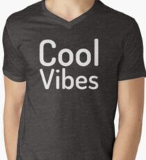 Cool Vibes-Good Vibes-Feel Good Men's V-Neck T-Shirt