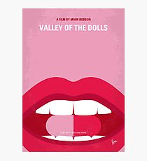 No945 My Valley of the Dolls minimal movie poster Photographic Print