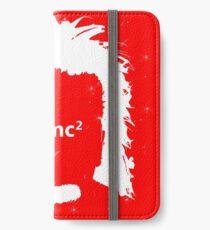 Vinilo o funda para iPhone Diseño de la ecuación física de Albert Einstein