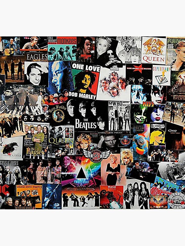 Rock Collage by Tiltedgiraffes
