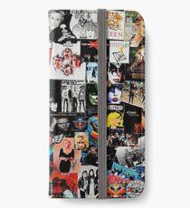 Rock-Collage iPhone Flip-Case/Hülle/Skin