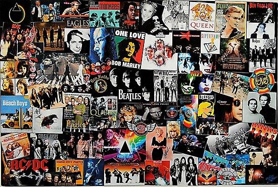 Rock-Collage von Tiltedgiraffes
