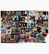 Rock Collage Poster