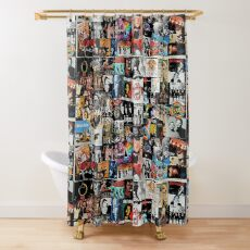 Rock Collage Shower Curtain