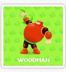 ROBOT MASTERY! - WOOD MAN Sticker