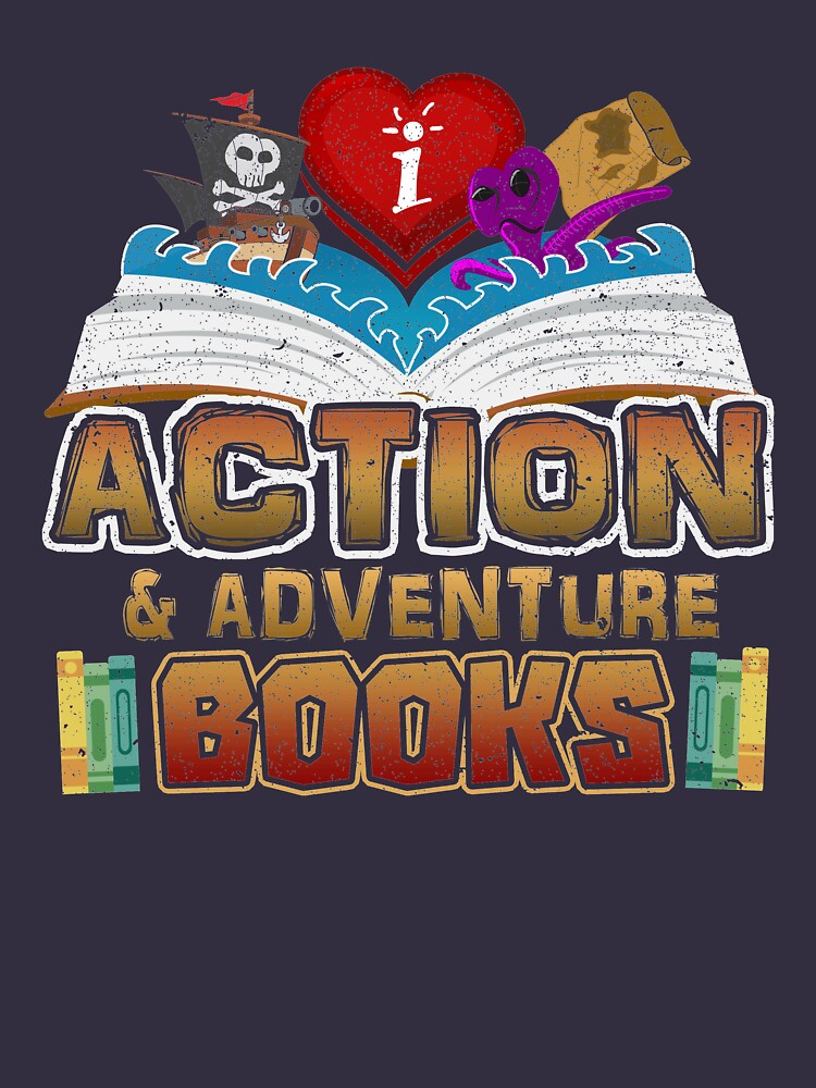 I Love Action & Adventure Books by cruiser59
