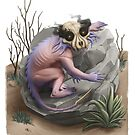 Sand Demon in Desert Illustration   Creatures and Monsters by PathOfPixels