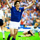 PAOLO ROSSI LEGENDARY FOOTBALL PLAYER JUVENTUS ITALIA SUPER COOL POSTER by westox