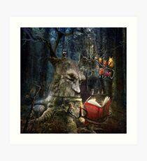 """""""The Storyteller"""" Art Print"""