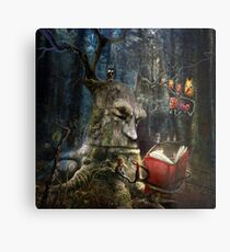 """The Storyteller"" Metal Print"