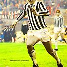 ROBERTO BETTEGA LEGENDARY FOOTBALL PLAYER JUVENTUS ITALIA SUPER COOL POSTER by westox
