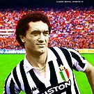 CLAUDIO GENTILE LEGENDARY FOOTBALL PLAYER JUVENTUS ITALIA SUPER COOL POSTER by westox
