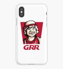 Dustin GRR Parody T-Shirt iPhone Case
