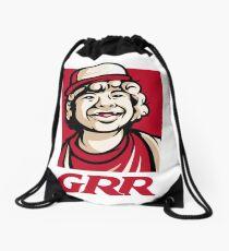 Dustin GRR Parody T-Shirt Drawstring Bag